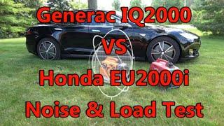 getlinkyoutube.com-Generac IQ2000 VS Honda EU2000i Noise and Load Test