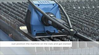 getlinkyoutube.com-TRUMPF TruTool TSC 100 Laser Slat Cleaner
