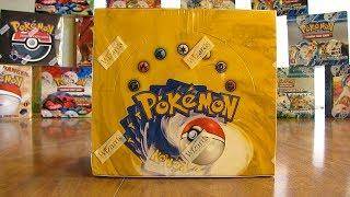 getlinkyoutube.com-Pokemon Base Set Booster Box Opening Pt. 1