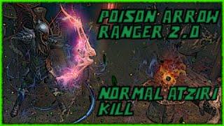 [2.0]Path of Exile: The Awakening - Poison Arrow Ranger - Normal Atziri