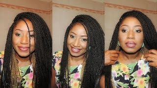 getlinkyoutube.com-DIY SENEGALESE TWIST CROCHET BRAIDS || COLLAB WITH CYN