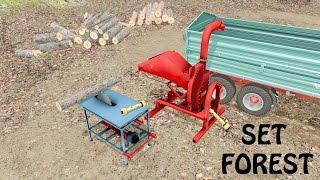 Farming Simulator 17 Presentazione Set Forest #1 By SimoFarmer96