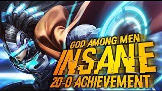getlinkyoutube.com-Mobile Legends │ UNBELIEVEABLE GAME - 20-0 Achievement - Alpha INSANE Gameplay