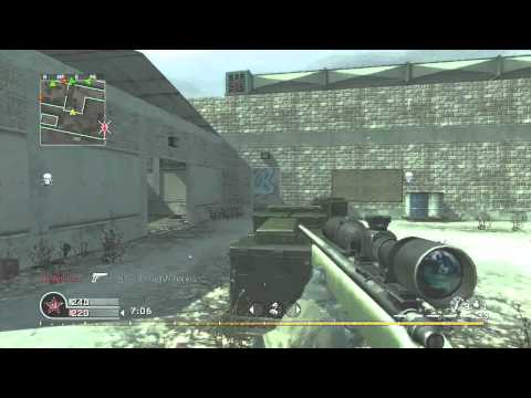 CoD4 Sniping - Keeping It Real With Muzzafuzza