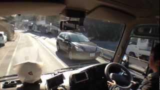 getlinkyoutube.com-『トヨタコースター超ショート』運転動画・キャンピングカー