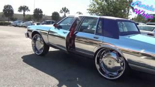 getlinkyoutube.com-Chrome Box Chevy on 28's - Florida Whips - 1080p HD