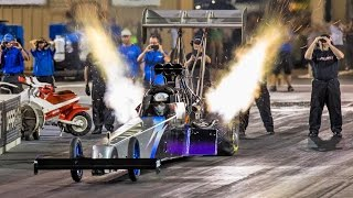 getlinkyoutube.com-Top Fuel DRAGSTER - 4 Second MONSTER!