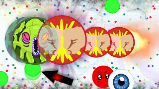 getlinkyoutube.com-Agar.io - AGARIO POPSPLIT VS VANISHSPLIT and EPIC SOLO GAMEPLAY (Destroying Teams Solo in Agar.io)