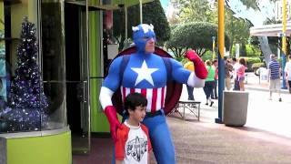 getlinkyoutube.com-Meet the heroes of Marvel Super Hero Island at Universal's Islands of Adventure theme park