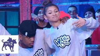 getlinkyoutube.com-Wild 'N Out | Zendaya's Face is Off Limits! | Season 7 Flashback