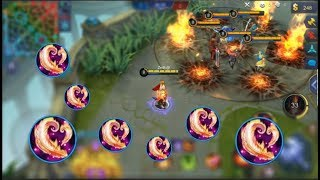NEW FIRE MAGE VALIR | FULL BLOOD WINGS BUILD | INSANE DAMAGE | Mobile Legends