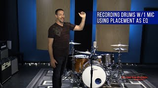 getlinkyoutube.com-Recording Drums with 1 Microphone