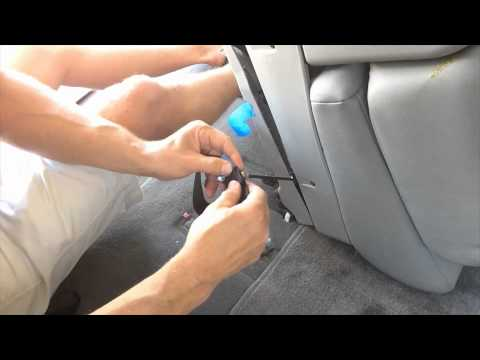 How to Fix Stuck 3rd Row Sequoia Seat