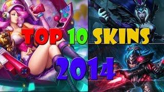 getlinkyoutube.com-TOP 10 SKINS in League of Legends 2014 Season 4