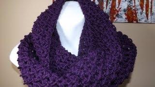 getlinkyoutube.com-Crochet bufanda circular o tubular bien facil - with Ruby Stedman