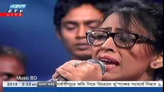 getlinkyoutube.com-Bonomali Tumi Poro Jonome Hoyo Radha Bangla Song live studio concert 2015 by Turin Bangladeshi Idol