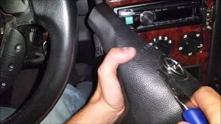 getlinkyoutube.com-Opel Astra G - How To Change Airbag Cover