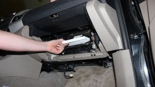 getlinkyoutube.com-How to Replace Your Cabin Air Filter Toyota Tacoma