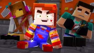Minecraft: MURDER - CHUCKY  BONECO ASSASSINO!