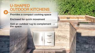 Video of inspirational outdoor kitchen ideas.