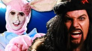 getlinkyoutube.com-Genghis Khan vs Easter Bunny.  Epic Rap Battles of History #8