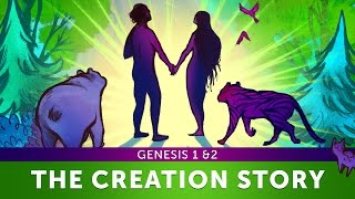 Sunday School Lesson - The Creation Story - Genesis 1 & 2 - Bible Teaching Stories for Christianity
