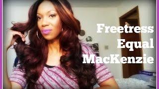 getlinkyoutube.com-Freetress Equal MacKenzie {Glamourous Hair}