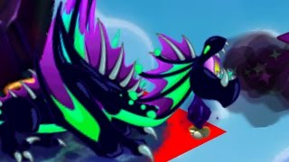 DragonVale: Elder DARK Dragon Lookie Review