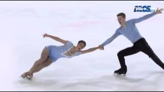 getlinkyoutube.com-Camille MENDOZA/Pavel KOVALEV - Championnat de France 2015 LP