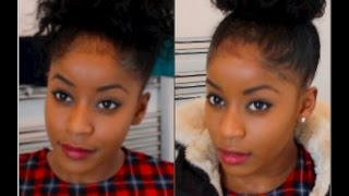 getlinkyoutube.com-Want a bigger puff/bun? Heres how to get one