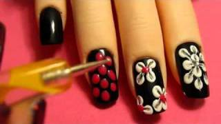 getlinkyoutube.com-Flower Nail Designs