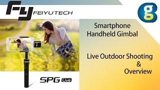 getlinkyoutube.com-Feiyu Tech FY-SPG Live Outdoor Shot Sports Recording
