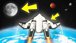 getlinkyoutube.com-FLYING TO THE MOON IN GTA 5!!! (The Spaceship - GTA 5 Mods)