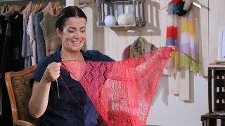 getlinkyoutube.com-Trailer: Luftige Tücher stricken mit der Lace-Technik
