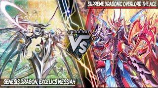 getlinkyoutube.com-Cardfight Vanguard!! | Excelics Messiah VS Dragonic Overlord The Ace