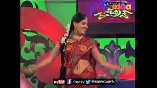 getlinkyoutube.com-ETV Abhishekam Serial Fame Sanjana Patro navel show