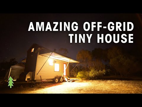 Amazing Off the Grid Tiny House on Wheels