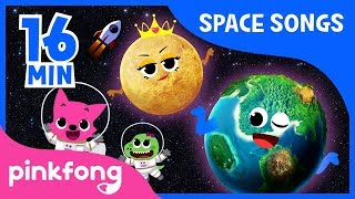Eight Planets and more | Space Songs | +Compilation | Pinkfong Songs for Children width=