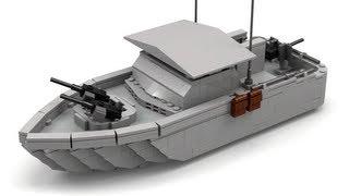 getlinkyoutube.com-Lego Vietnam War River Patrol Boat Instructions