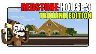 getlinkyoutube.com-Minecraft Redstone House 3 [Trolling Edition] |Minecraft Xbox|