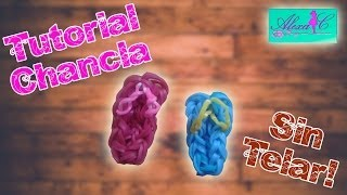 getlinkyoutube.com-♥ Tutorial: Chanclas de gomitas (sin telar) ♥