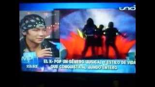 getlinkyoutube.com-KPOP en TV Boliviana. RED UNO Reportaje + Entrevista LFB-K