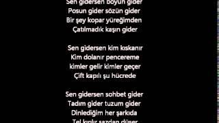 getlinkyoutube.com-Ümit Yaşar Oğuzcan - Sen Gidersen