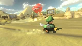 getlinkyoutube.com-Wii U - Mario Kart 8 - (GCN) Dry Dry Desert