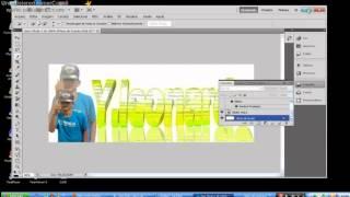 Como fazer Um Banner Usando Photoshop & Xara 3D  ! (PART 1 PANCADA DESING)