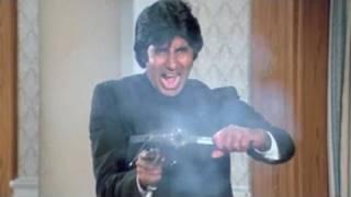 Amitabh Bachchan, Kadar Khan, Inquilaab   Scene 20/21
