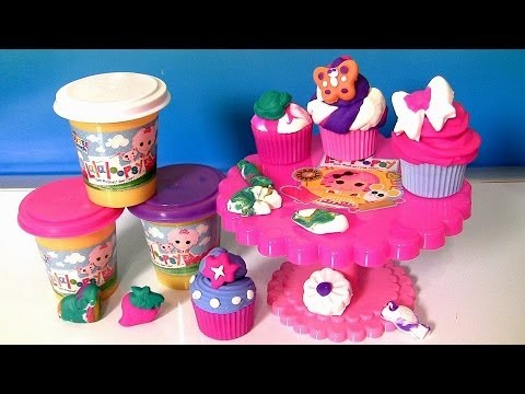 Lalaloopsy Cra-Z-Cute Cupcakes Playset Softee Dough With Cup