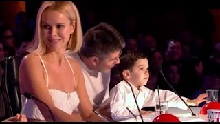 Simon Cowell's Son Eric Judging DEBUT on BGT   Auditions 2   Britain's Got Talent 2017