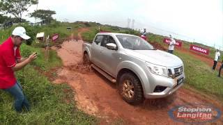 Nissan Offroad Test All New NP300 Navara in Indonesia