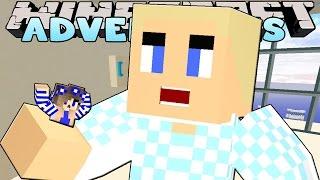 getlinkyoutube.com-Minecraft-Little Carly Adventures-LITTLE CARLY GETS EATEN!!